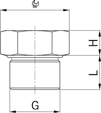 EX-LP locking plug diagram