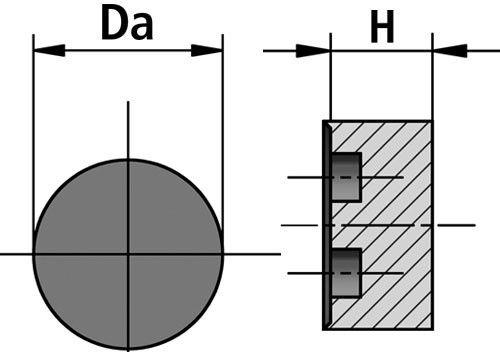DEO-P sealing insert diagram