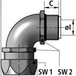 EW 90-M fitting diagram