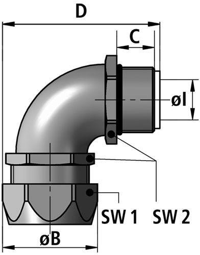 EW 90-P fitting diagram