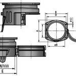 FLEXAquick Fitting Multi-GFP Diagram