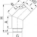 NPB45 metal fitting diagram