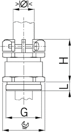 NPBC sealing insert diagram