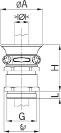 NPBTC sealing insert diagram