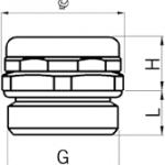 PBE-ME cable gland diagram