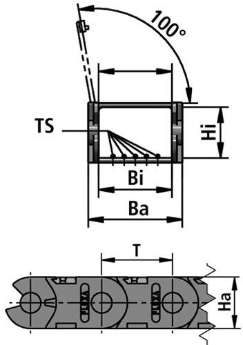 PL3 cable guide chain diagram
