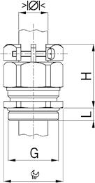 Progress MS KB cable gland diagram