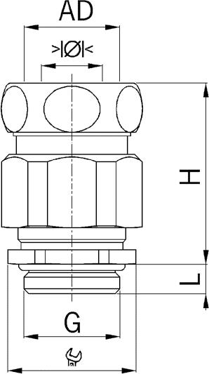 Progress MS Kombi EX cable gland diagram