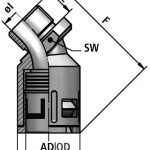 FLEXAquick Fitting RQB45-N Diagram