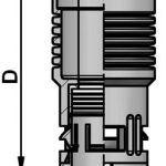 FLEXAquick Fitting RQGR Diagram
