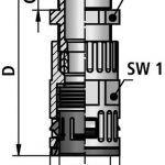 FLEXAquick Fitting RQGZ-N Diagram