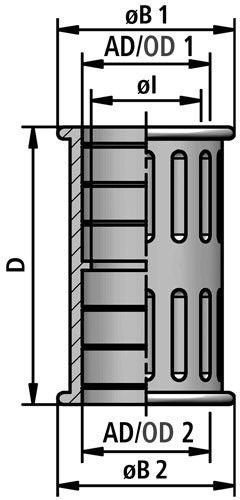 FLEXAquick Fitting RQK Diagram