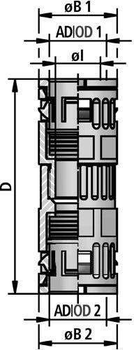 FLEXAquick Fitting RQK-PA Diagram