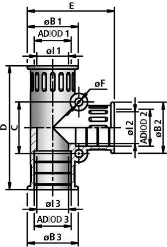 FLEXAquick Fitting RQT Diagram