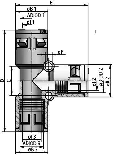 FLEXAquick Fitting RQT-PA Diagram