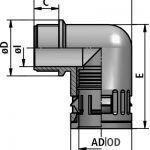 FLEXAquick Fitting RQW-C Diagram