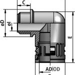 FLEXAquick Fitting RQW1-P Diagram