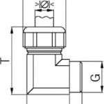 SCG 90 cable gland diagram