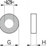 srnbr sealing ring diagram
