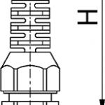 SYNTEC AK cable gland diagram