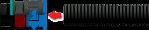 inserting conduit