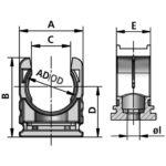 RQHG tubing clamp system diagram