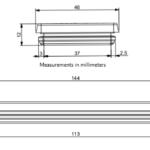 DES-PM 24 Cable Entry Plate Diagram