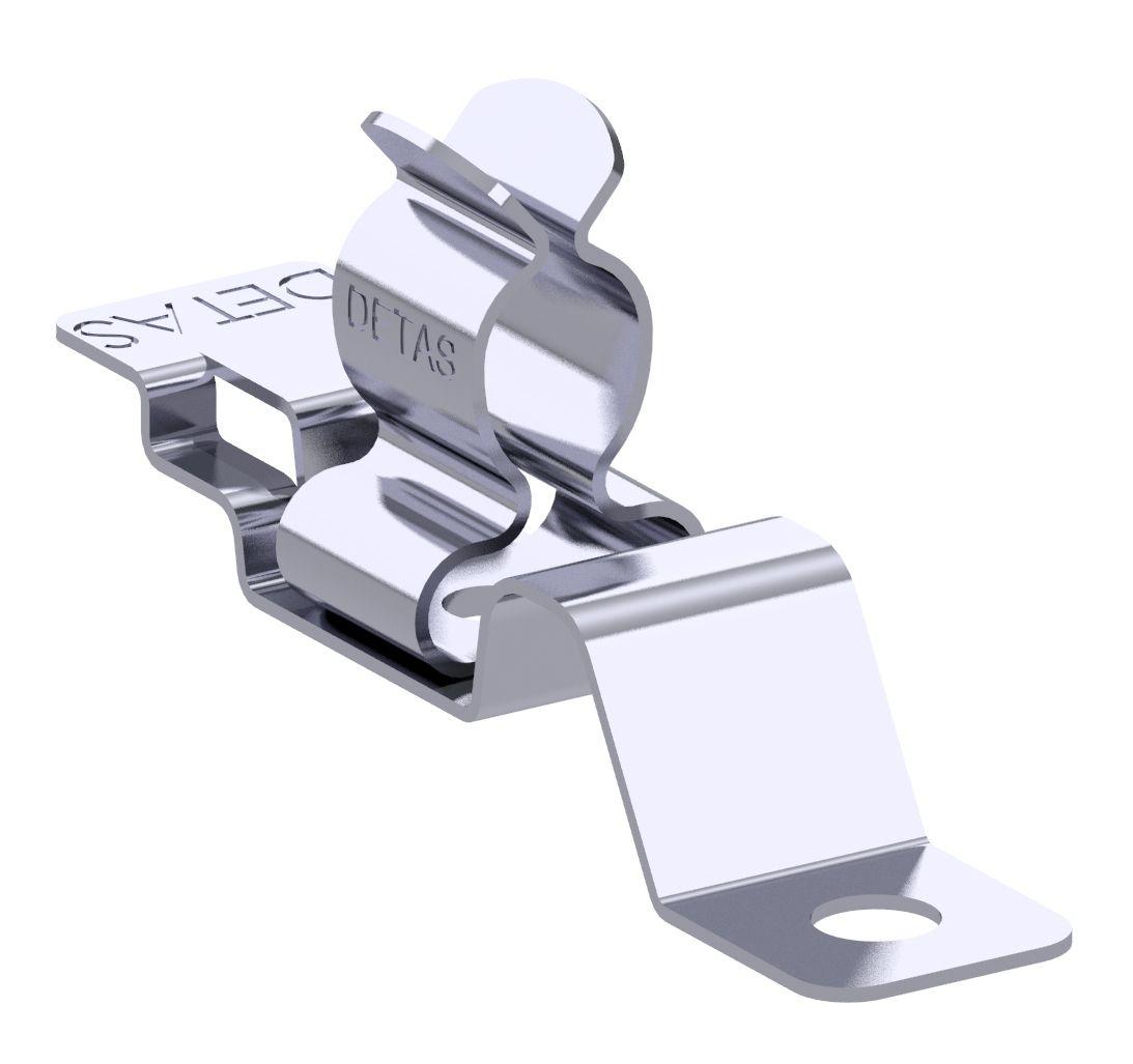 MSA shield clamp