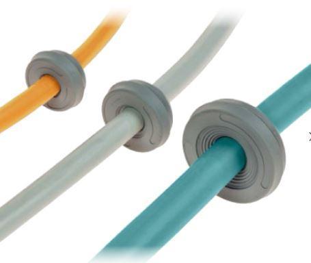DES PMU Round Cable Entry Plate