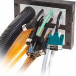 Visual of DES 24 MX2 1 cable entry system with multiple cables