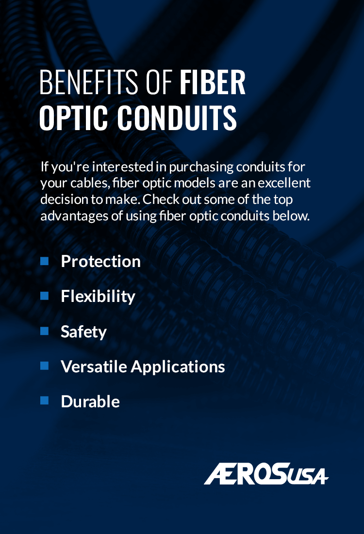 benefits of fiber optic conduits