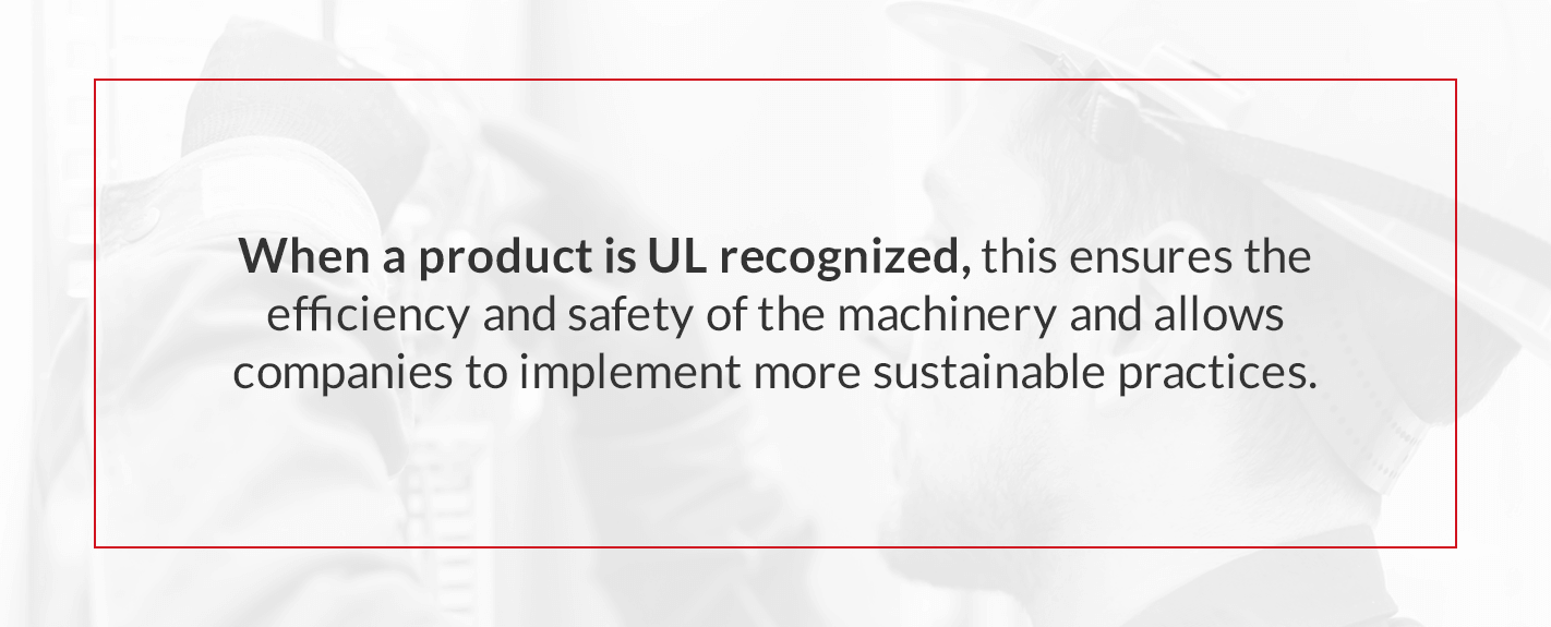 difference between ul listed and ul recognized