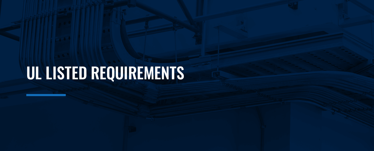 ul listed requirements