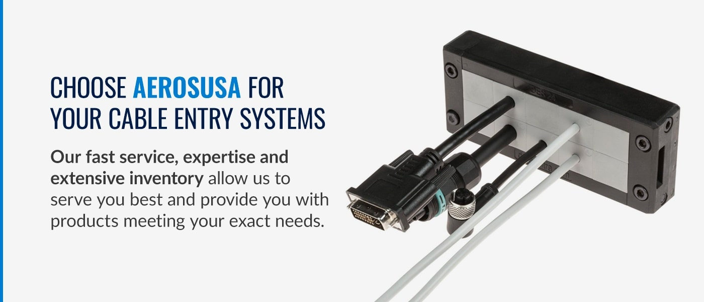 choose aeros for cable entry systems