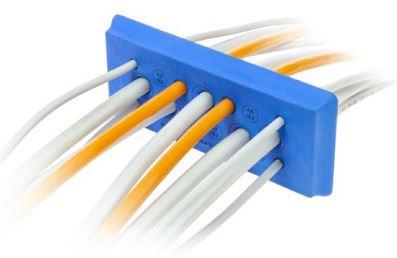 DES PDM 24 Clean cable entry plate