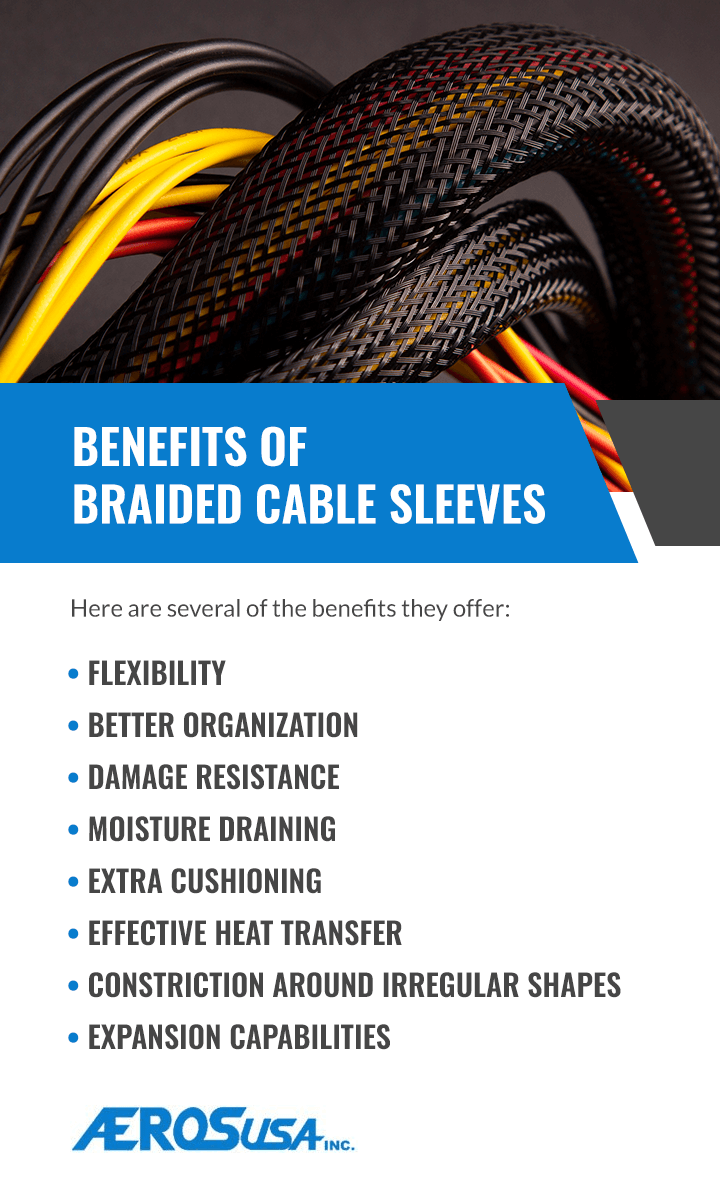benefits of braided cable sleeves